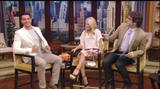 Kelly Ripa @ LIVE! with Kelly | July 18 | 32 caps [slit skirt]