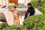 Christina Milian Topless in bikini
