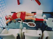 Anna Kournikova - David LaChapelle Photoshoot 1998